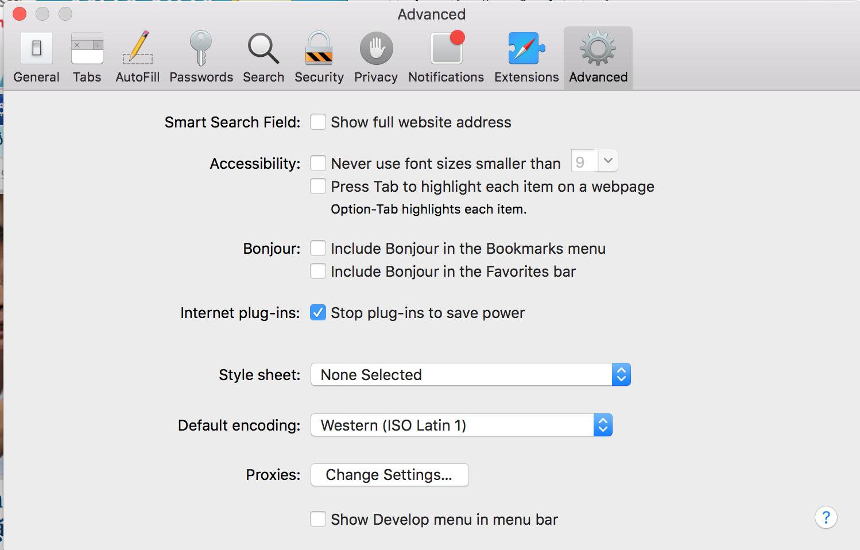 Hướng dẫn tăng tốc trình duyệt Safari trên máy tính Mac - 2