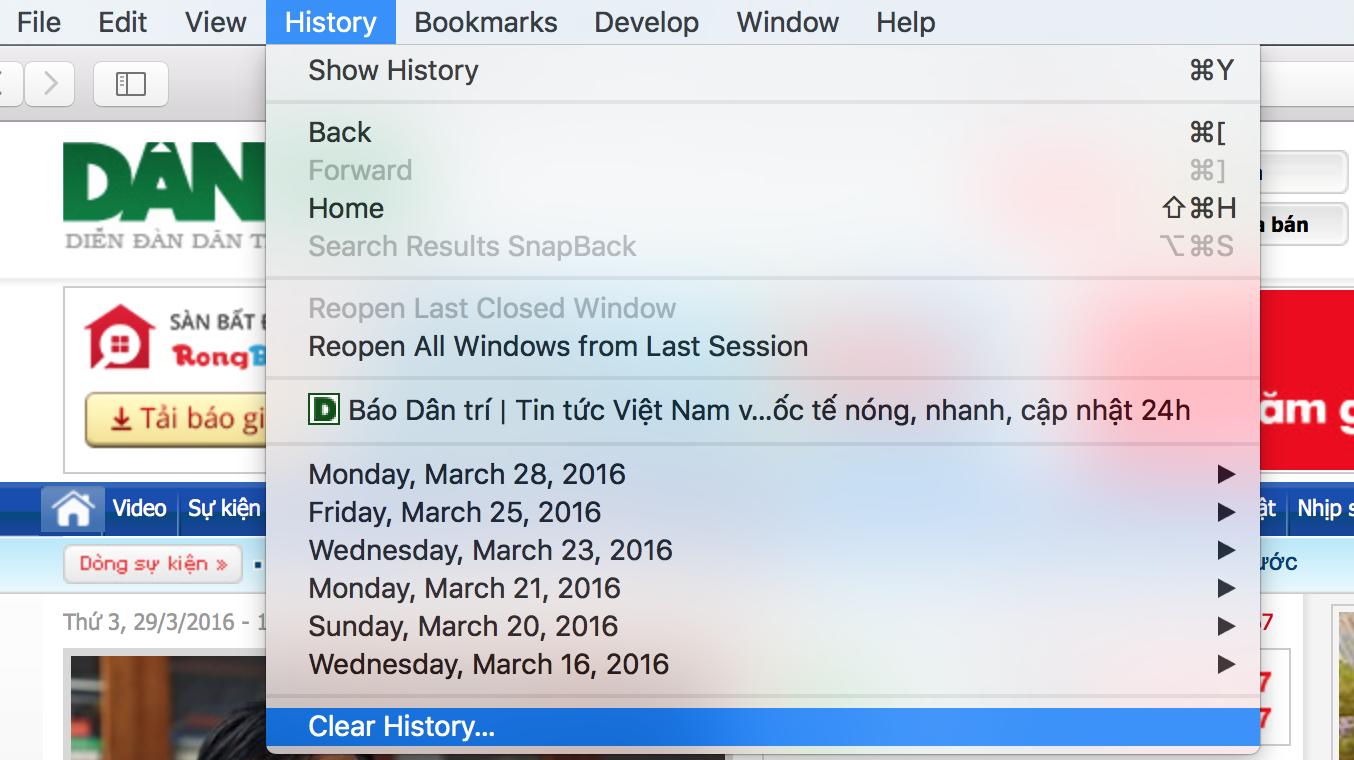 Hướng dẫn tăng tốc trình duyệt Safari trên máy tính Mac - 4