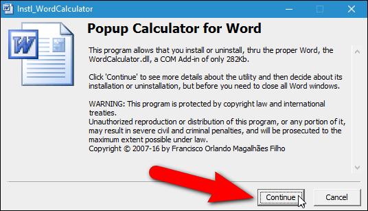 Hướng dẫn thêm máy tính vào Microsoft Word - 2