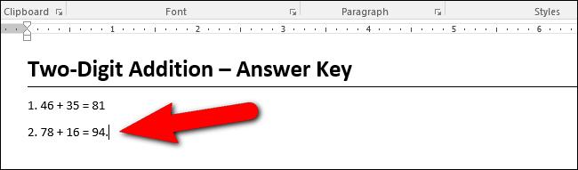 Hướng dẫn thêm máy tính vào Microsoft Word - 12