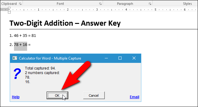 Hướng dẫn thêm máy tính vào Microsoft Word - 9