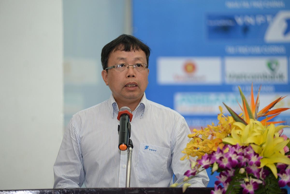 Ông Nghiêm Phú Hoàn, đại diện đơn vị đồng tổ chức và là Nhà tài trợ chính VNPT