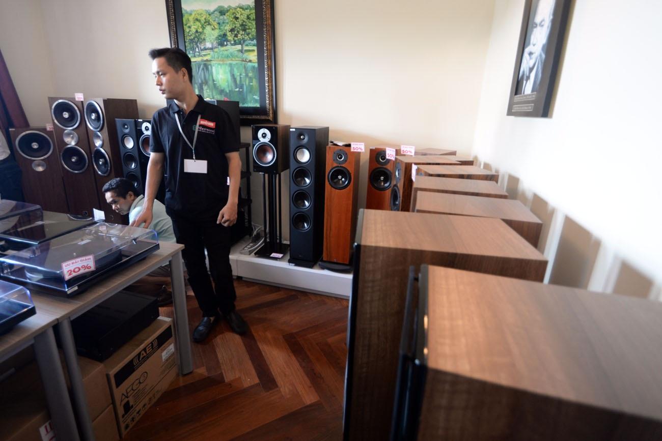 Săn đồ hi-end giảm giá tại Triển lãm thiết bị âm thanh Vietnam AV Show 2016 - 6