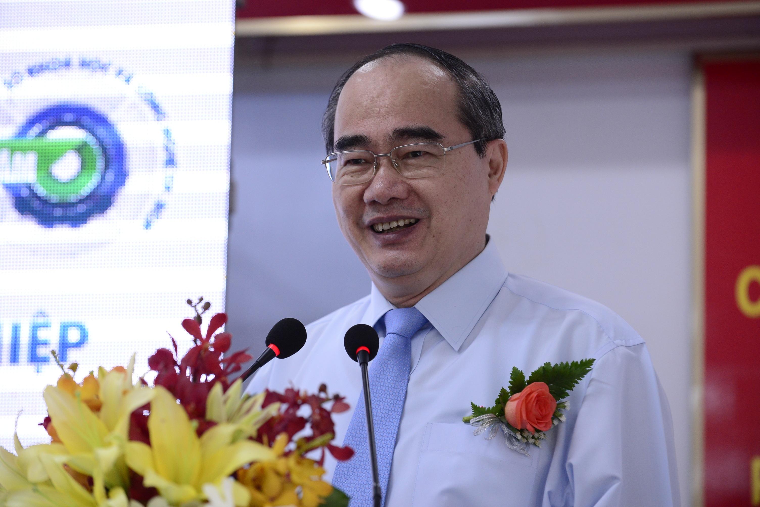 Đồng chí Nguyễn Thiện Nhân, Ủy viên Bộ Chính trị, Chủ tịch Ủy ban Trung ương Mặt trận Tổ quốc Việt Nam