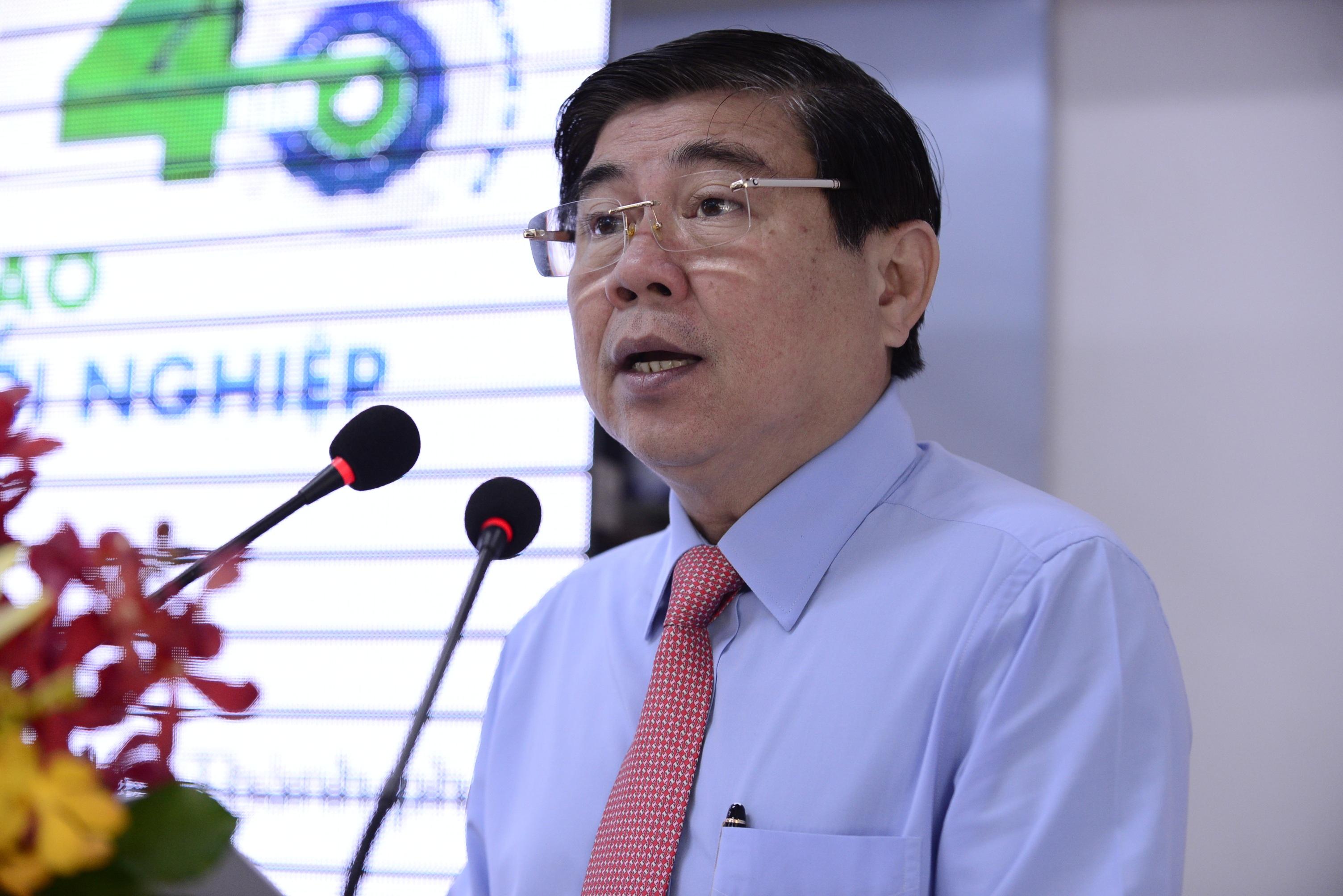 Ông Nguyễn Thành Phong, Ủy viên BCH Trung ương Đảng, Phó Bí thư Thành ủy, Chủ tịch Ủy ban nhân dân TPHCM