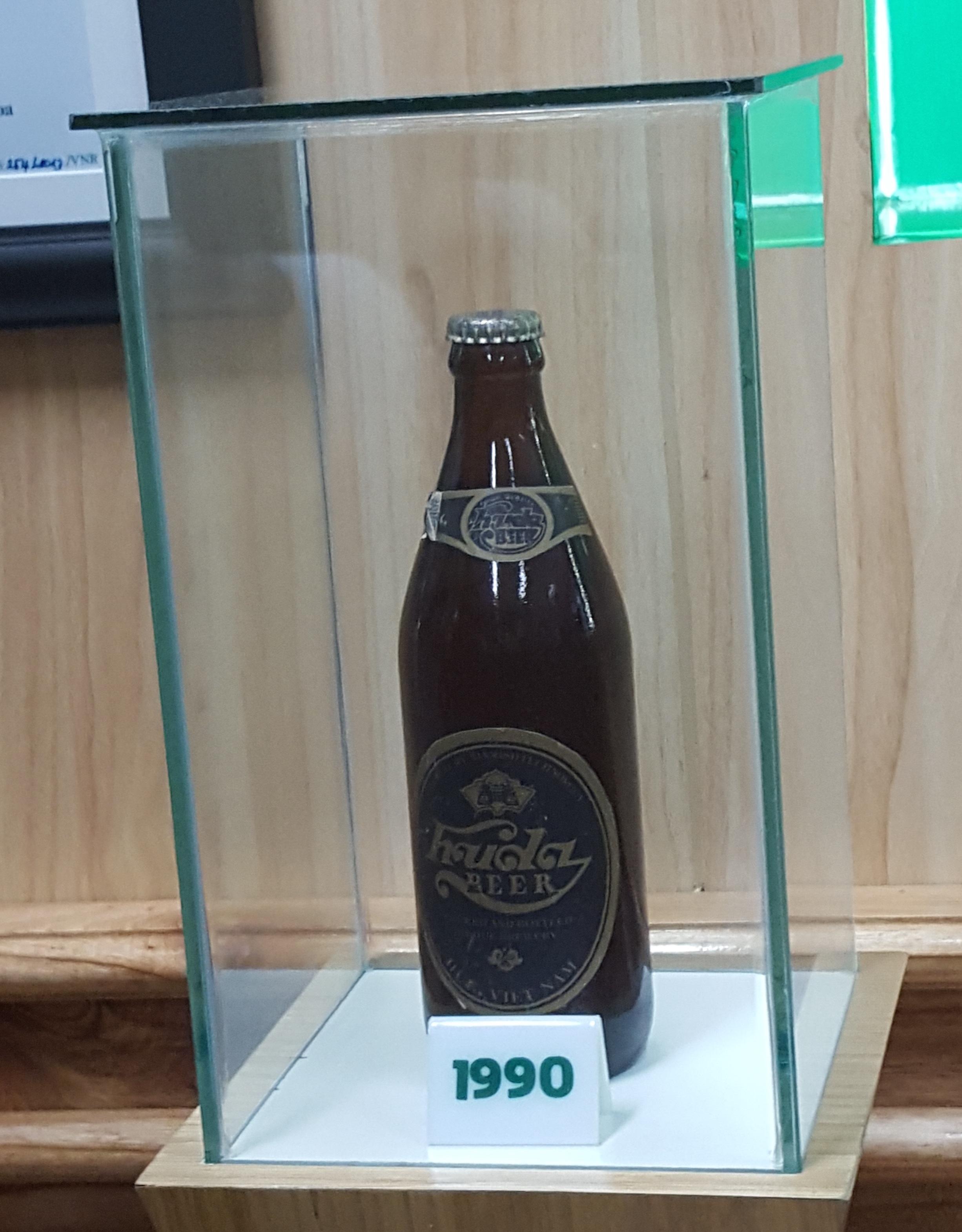 Vỏ lon bia Huda sản xuất từ năm 1990
