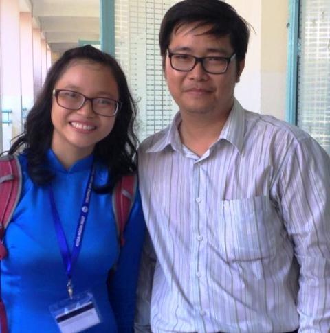 Nữ sinh Sư phạm Nguyễn Ngọc Thảo My mong có một môi trường dạy học không bị áp lực sổ sách, thành tích và đặc biệt, người thầy phải có thu nhập xứng đáng với năng lực, công sức