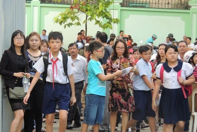Học sinh đạt từ 57 điểm đã trúng tuyển vào lớp 6 Trần Đại Nghĩa