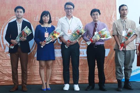 Những gương mặt đại sứ Tiếng nói trẻ trong lễ ra mắt dự án