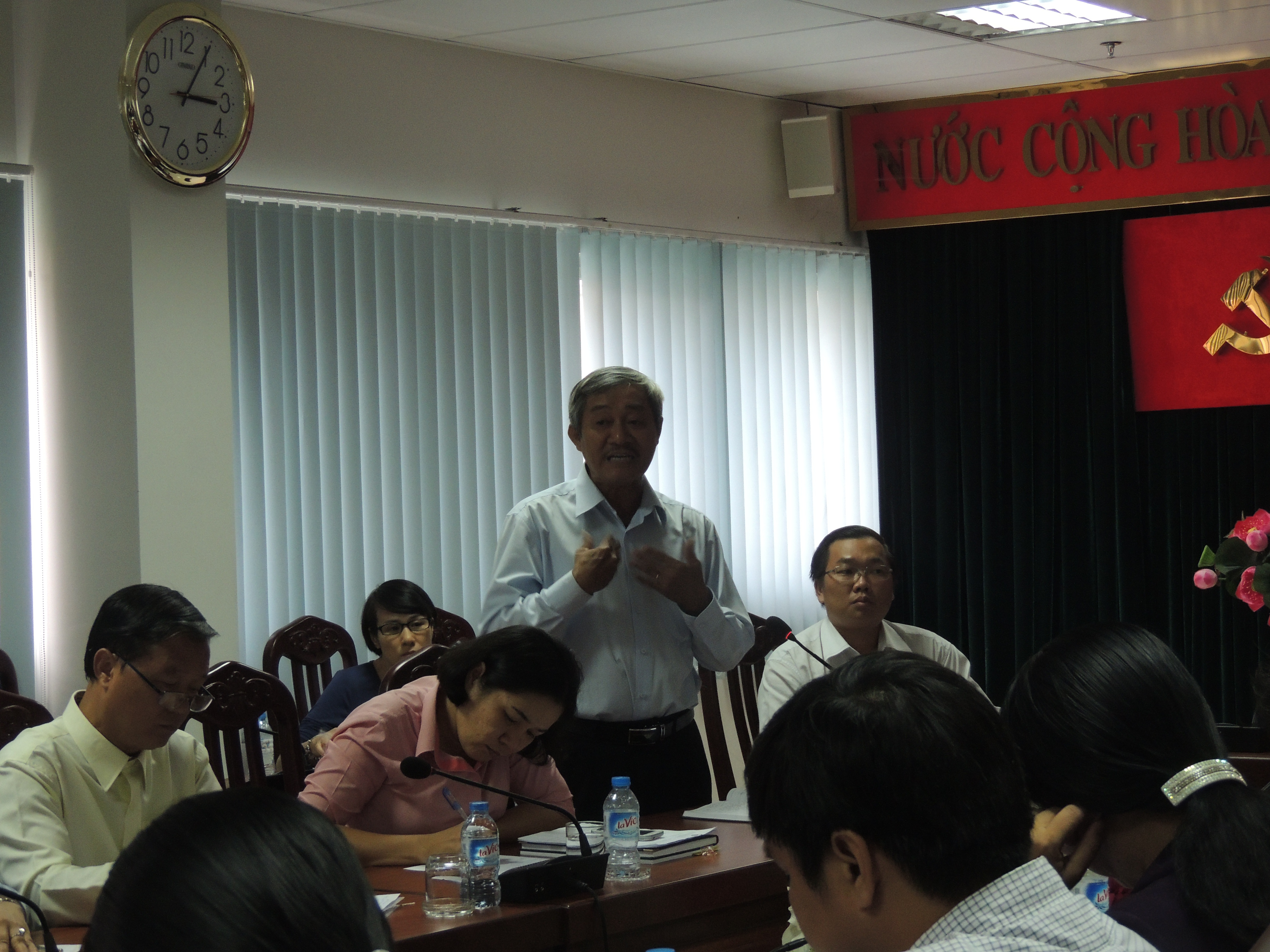 Theo ông Phạm Hùng Dũng, Trưởng phòng GD-ĐT Q.3, TPHCM, cái gốc của học thêm là do chúng ta học để thi