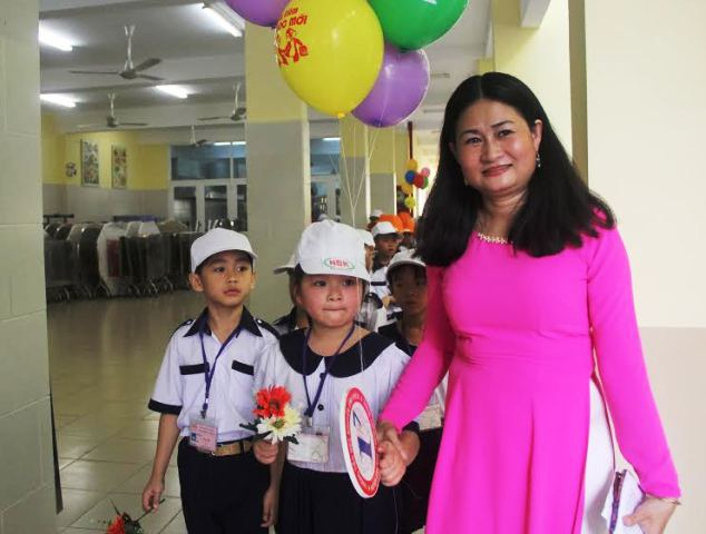 Các trường tổ chức nhiều chương trình để chào đón học sinh đầu cấp