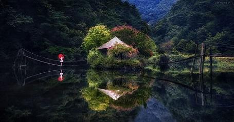 Nao lòng với cảnh thiên nhiên tuyệt đẹp như soi bóng nước gương hồ ở Hàn Quốc - 2
