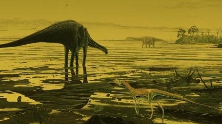 Phát hiện hàng trăm dấu chân khủng long thời cổ đại ở Scotland - 2