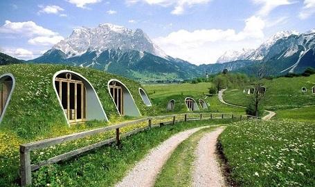 Chỉ mất 3 ngày để dựng lên căn nhà như của người Hobbit - 1