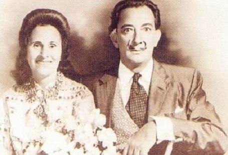 Chân dung Salvador Dali và vợ Gala Eluard