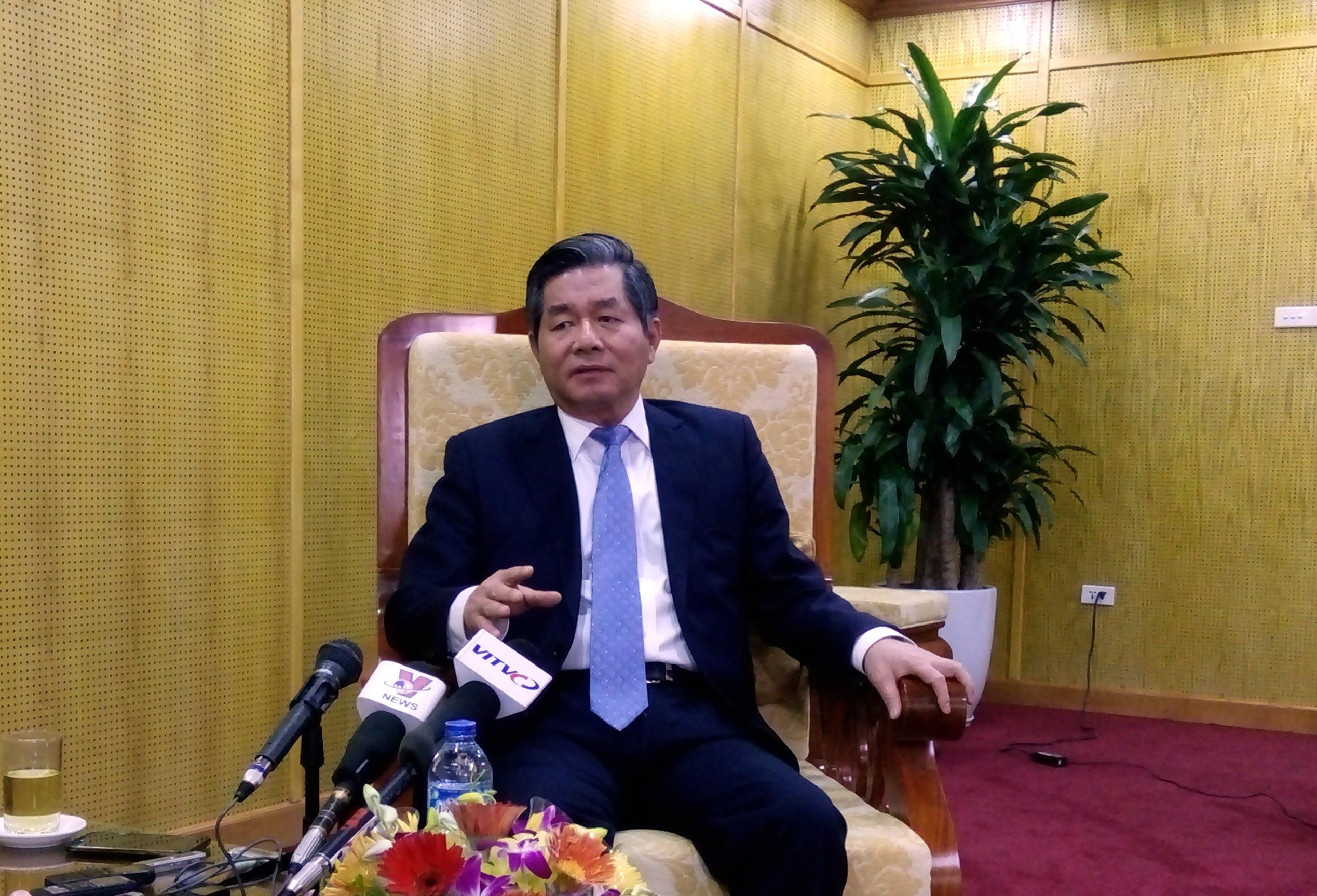 Bộ trưởng Bộ KHĐT Bùi Quang Vinh (Ảnh: BD)