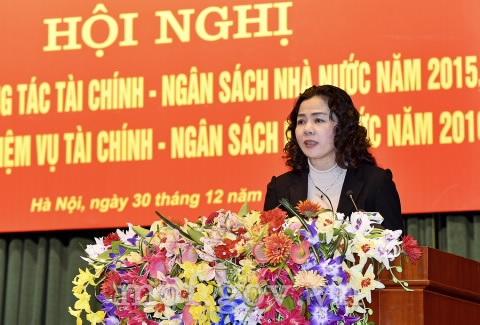 Thứ trưởng Bộ Tài chính Vũ Thị Mai