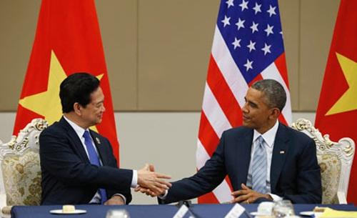 Thủ tướng Nguyễn Tấn Dũng và đoàn đại biểu cấp cao Việt Nam đã tới California tham dự Hội nghị thượng đỉnh ASEAN - Mỹ.
