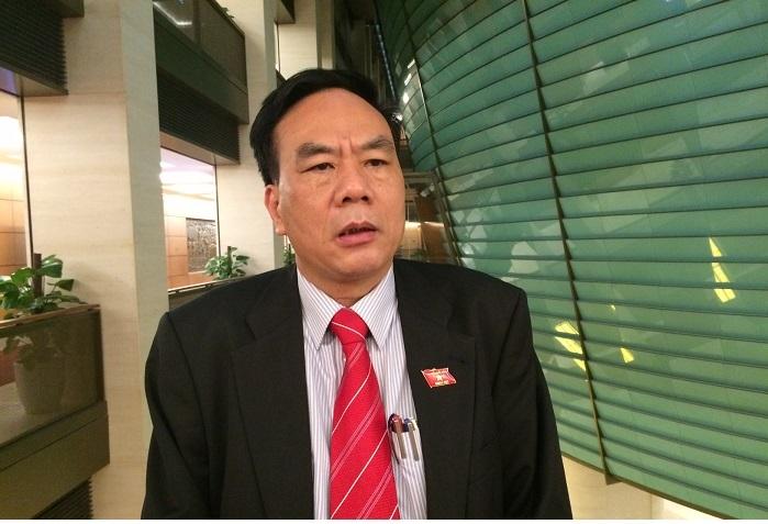 Ông Bùi Đức Thụ - Ủy viên Ủy ban Tài chính Ngân sách của Quốc hội (ảnh: BD)