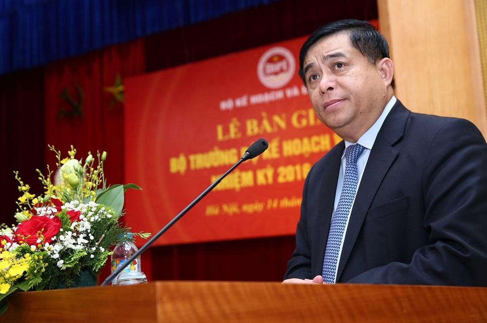 Tân Bộ trưởng Bộ KHĐT Nguyễn Chí Dũng (ảnh: Lê Tiên - Báo Đấu thầu)