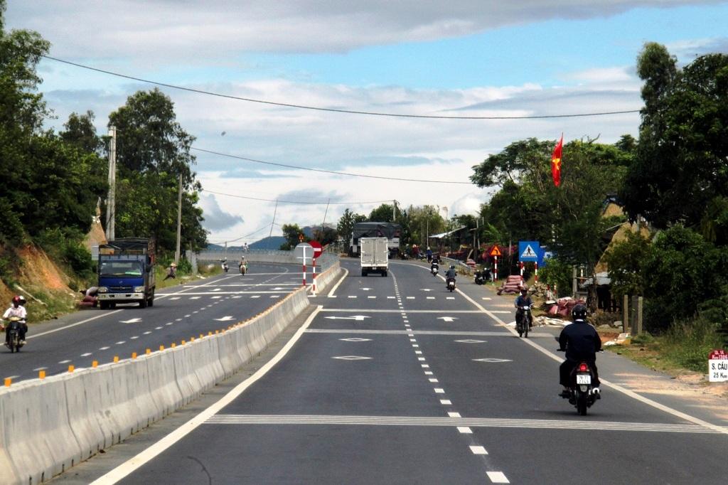 Quốc lộ 1 đoạn qua Phú Yên có tổng mức đầu tư lập tăng không đúng trên 430 tỷ đồng.