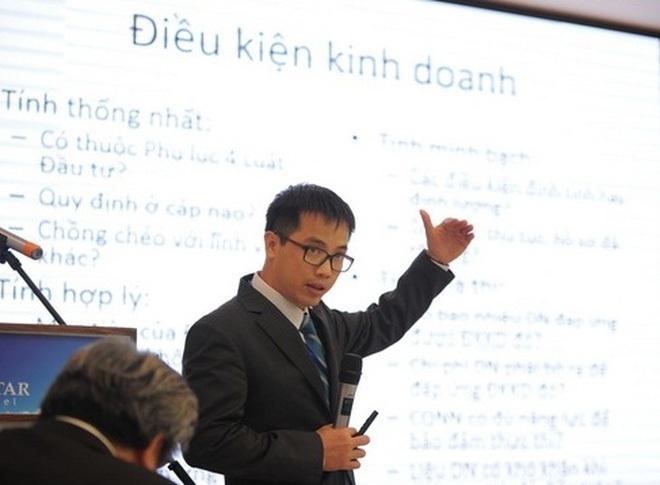 Ông Đậu Anh Tuấn, Trưởng ban Pháp chế VCCI: DN không sợ điều kiện kinh doanh, DN chỉ sợ điều kiện kinh doanh không minh bạch