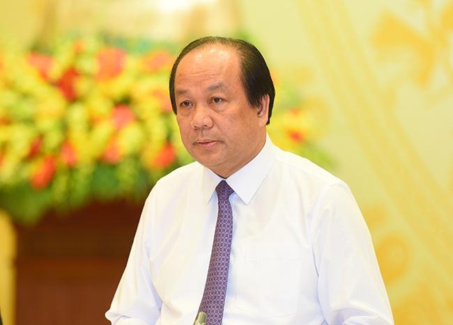 Bộ trưởng Chủ nhiệm Văn phòng Chính phủ Mai Tiến Dũng (ảnh: VGP)