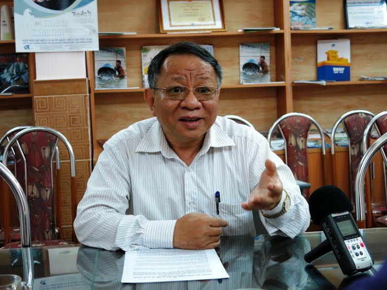 PGS. TS Nguyễn Hữu Dũng (ảnh: LĐ)