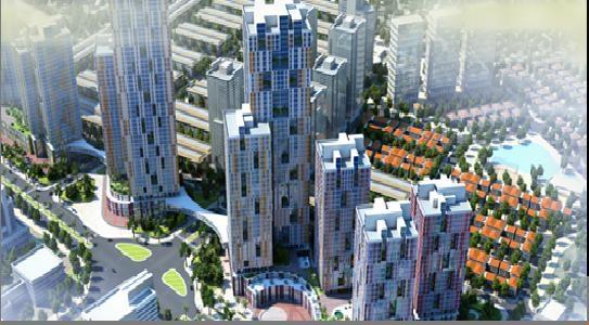 Phối cảnh USilk City, dự án đầy bê bối của Sông Đà - Thăng Long
