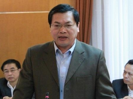 Ông Vũ Huy Hoàng, thời còn làm Bộ trưởng Bộ Công Thương