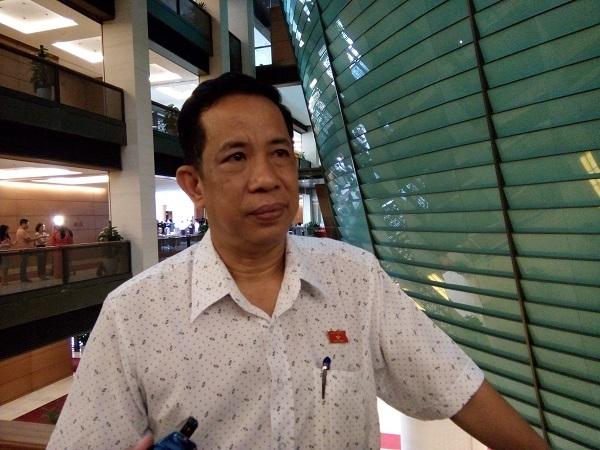 Đại biểu Đặng Thuần Phong, Phó Chủ nhiệm Ủy ban Các vấn đề xã hội của Quốc hội (ảnh: BD)