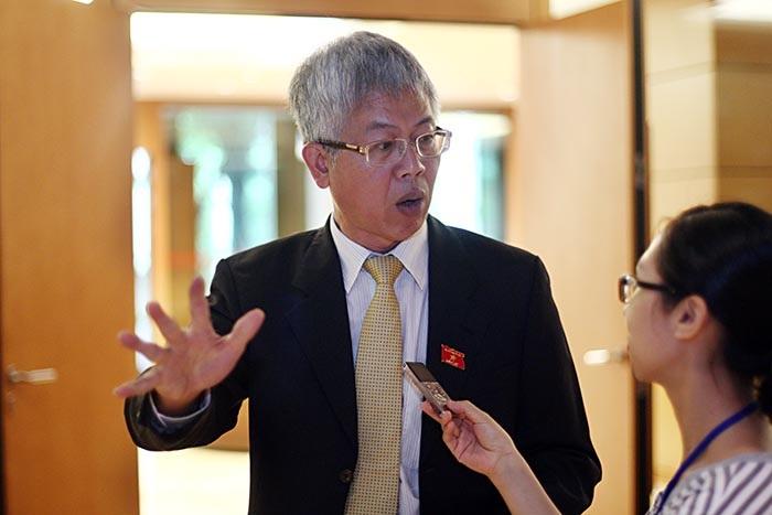 Đại biểu Nguyễn Đức Kiên: Trong thời gian hơn 3 tháng, Thủ tướng và Chính phủ đã giải quyết được rất nhiều việc (ảnh: Việt Hưng)