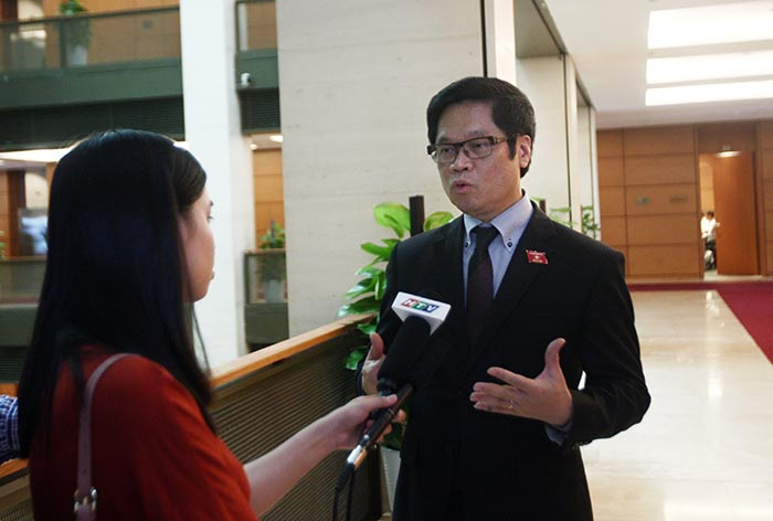 Ông Vũ Tiến Lộc hy vọng sức nóng của cải cách từ Chính phủ trong thời gian hơn 3 tháng qua sẽ được nuôi dưỡng trong cả nhiệm kỳ (ảnh: Việt Hưng)