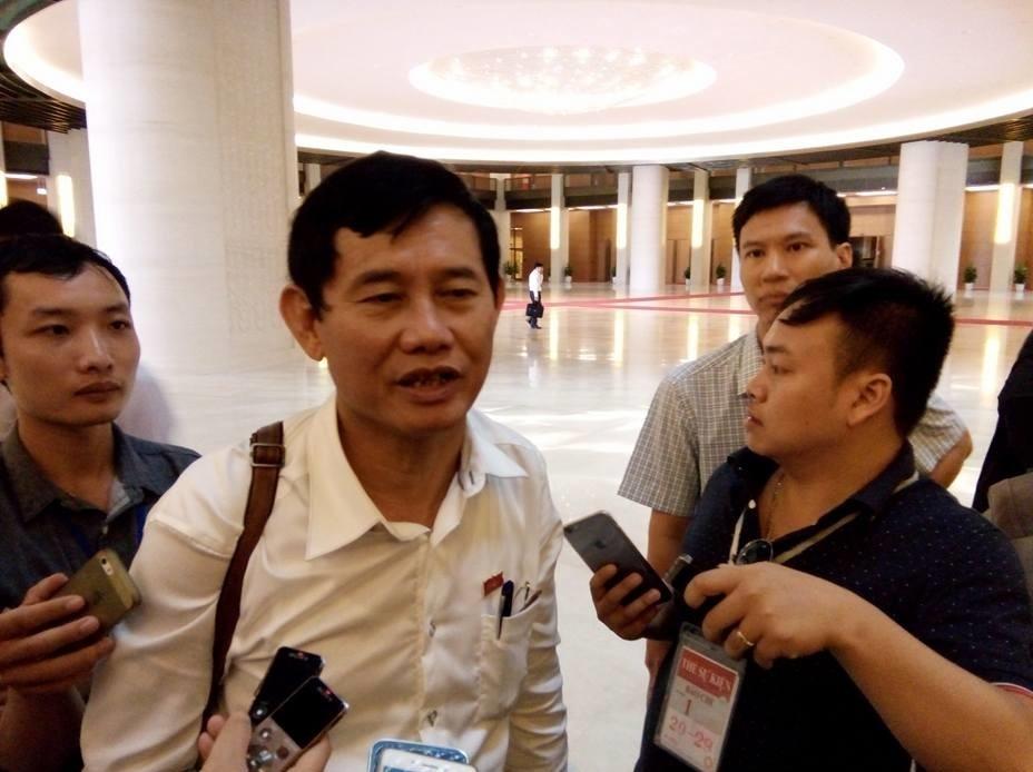 Đại biểu Quốc hội Nguyễn Ngọc Phương cho rằng có những vấn đề liên quan tới Formosa thuộc trách nhiệm của ông Võ Kim Cự chứ không phải ai khác (ảnh: BD)