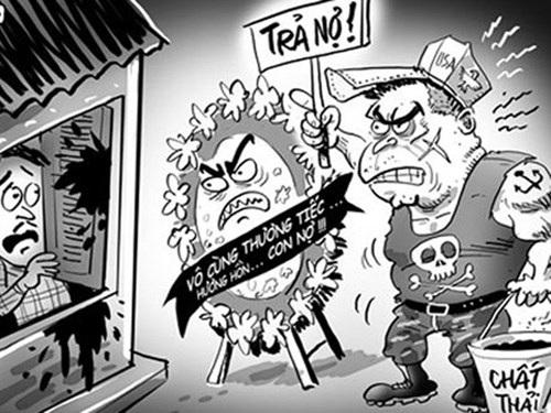 Với quy mô tín dụng đen lên tới 50 tỷ USD, dịch vụ đòi nợ thuê nở rộ ở Việt Nam với không ít rủi ro về mất trật tự an ninh xã hội