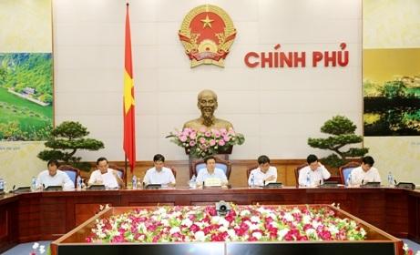 """Phó Thủ tướng: """"Bộ tiêu chí nông thôn mới có ý nghĩa rất quan trọng tới thành, bại của chương trình xây dựng nông thôn mới trong giai đoạn tới (ảnh: VGP)"""