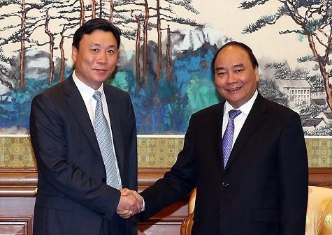 Lãnh đạo Công ty Cục 6 Đường sắt Trung Quốc cam kết với Thủ tướng cuối tháng 12/2016, sẽ hoàn thành xây dựng cơ bản dự án đường sắt trên cao Cát Linh - Hà Đông