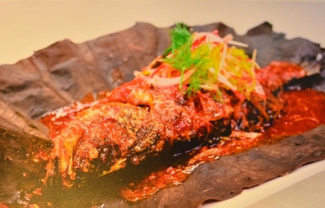 Cá nướng sốt ớt Brunei.