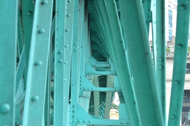 Kết cấu gầm cầu.