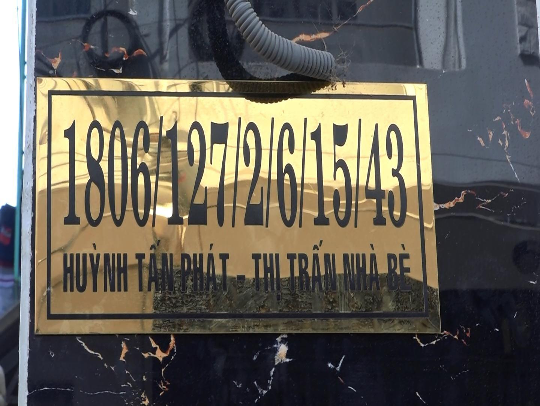 Số nhà phức tạp hơn số chứng minh thư.