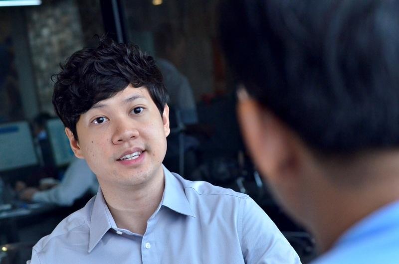 Ông chủ 8X- Nguyễn Trung Tín.(Ảnh: Phạm Nguyễn)