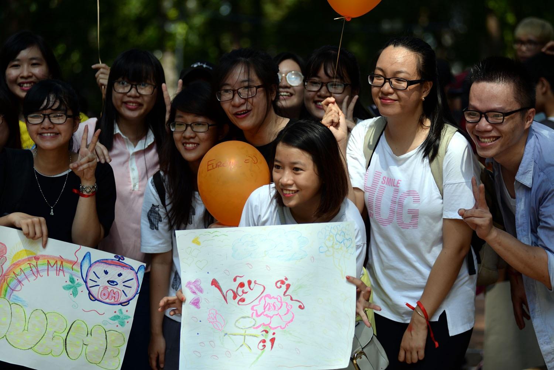 Những bạn trẻ đều là sinh viên và học sinh đang học tại TPHCM.