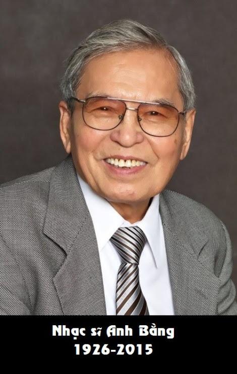 Cố nhạc sỹ Anh Bằng.