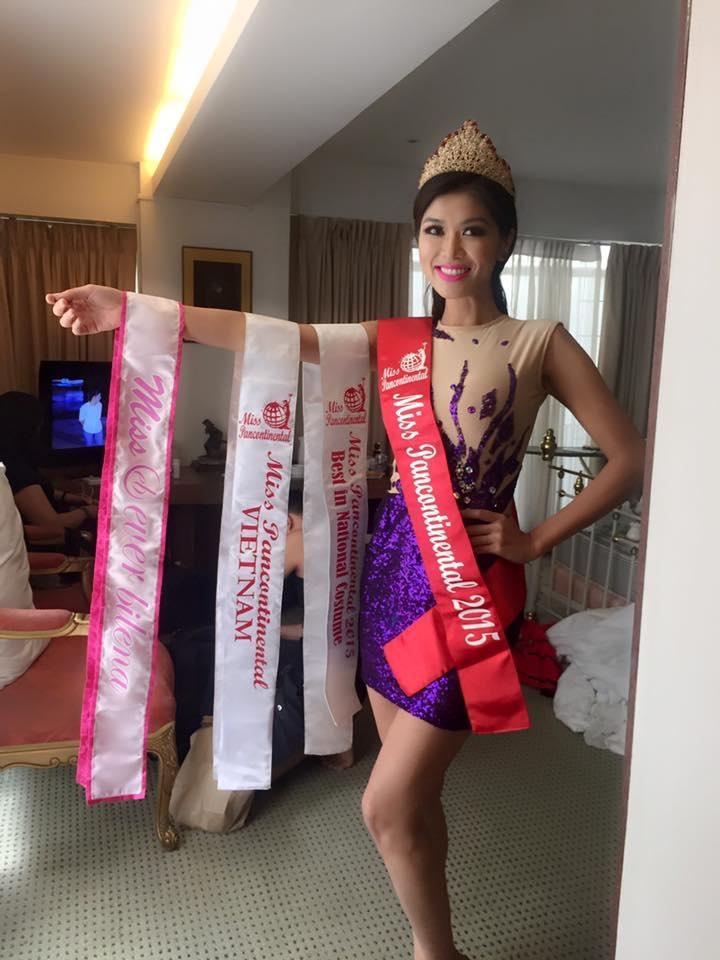 """Tân Hoa hậu Toàn cầu Oanh Yến: """"Tôi lấy tiền đâu ra mà nộp phạt?!"""" - 2"""