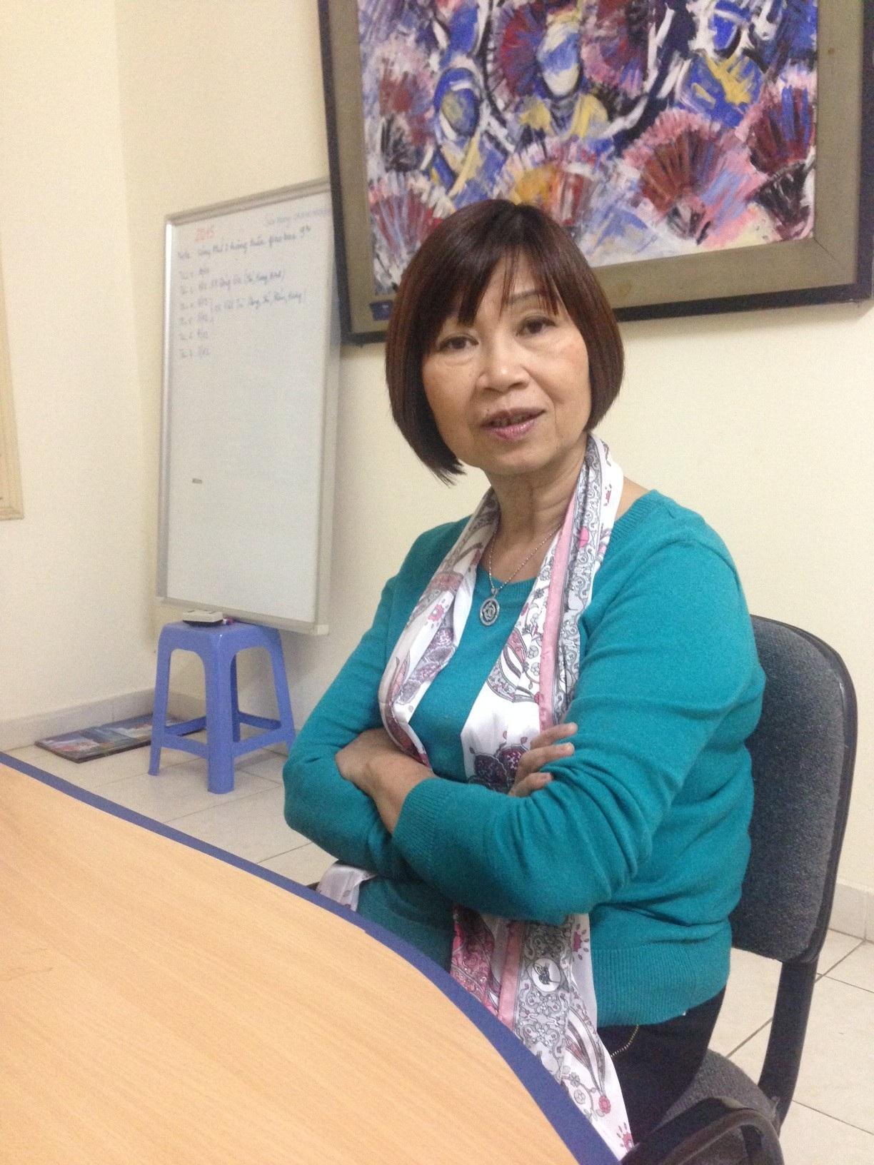 TS. Lê Thị Minh Lý, Giám đốc Trung tâm Nghiên cứu và Phát huy giá trị Di sản văn hoá. Ảnh: Tùng Long.