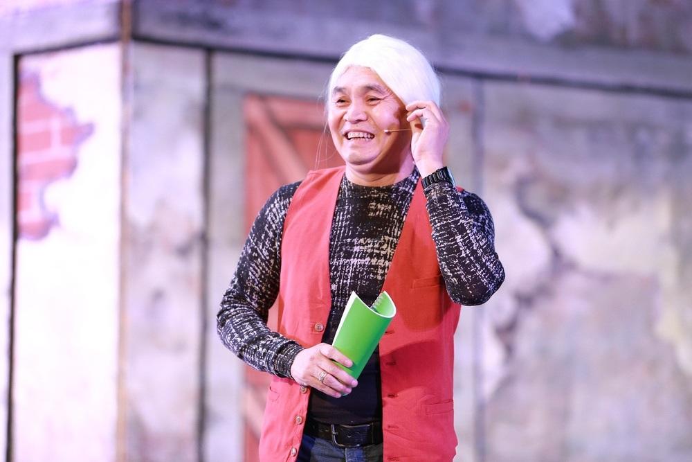 NSƯT Xuân Hinh đã dồn rất nhiều tâm huyết cho vở kịch mới.