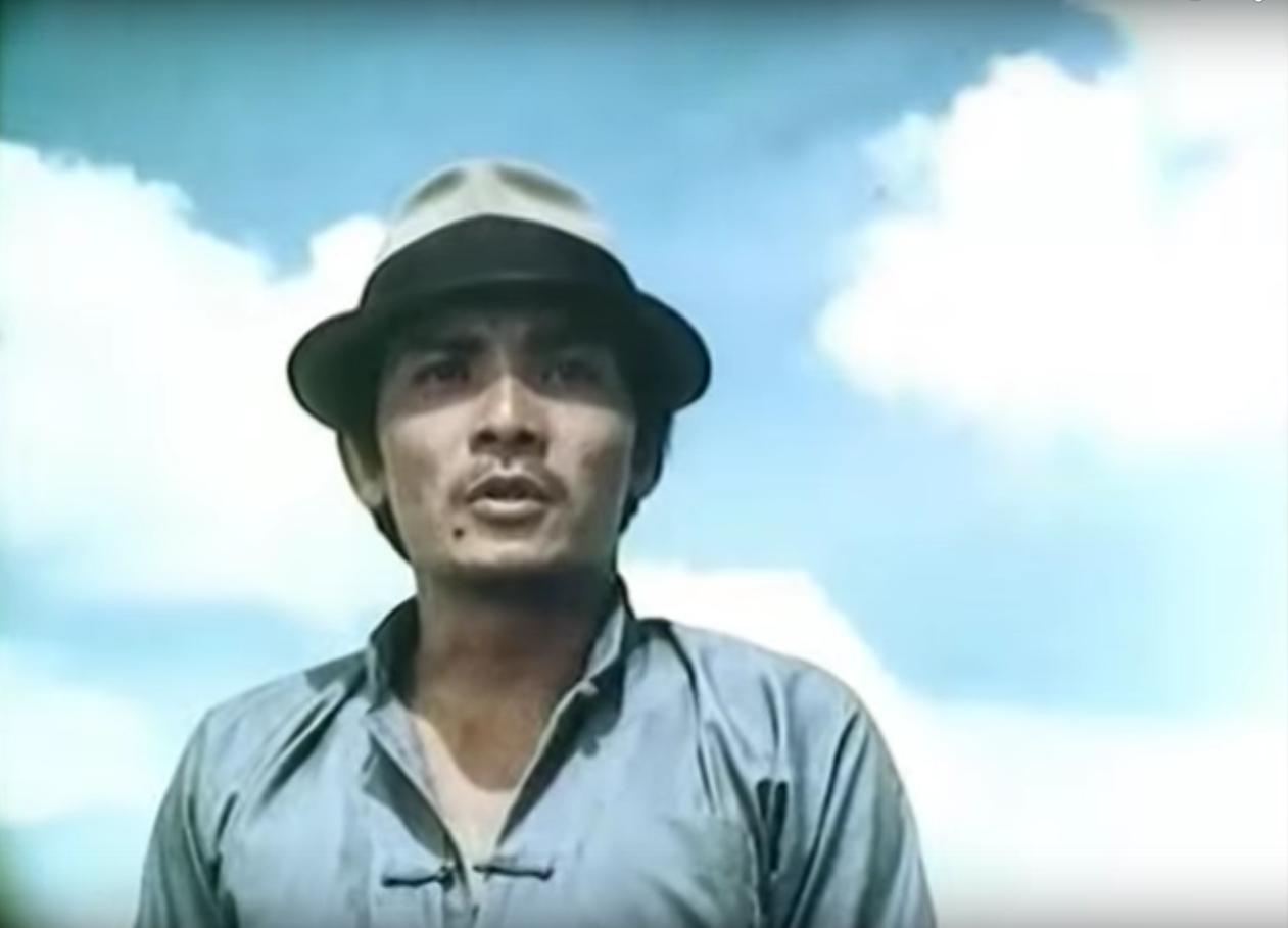 Nghệ sỹ Thương Tin thời còn trẻ. Ảnh: NVCC.