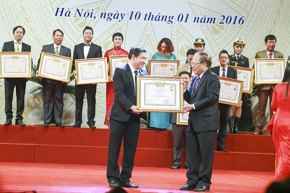 Bên cạnh Xuân Bắc, diễn viên Quang Thắng cũng được phong tặng danh hiệu NSƯT lần này.