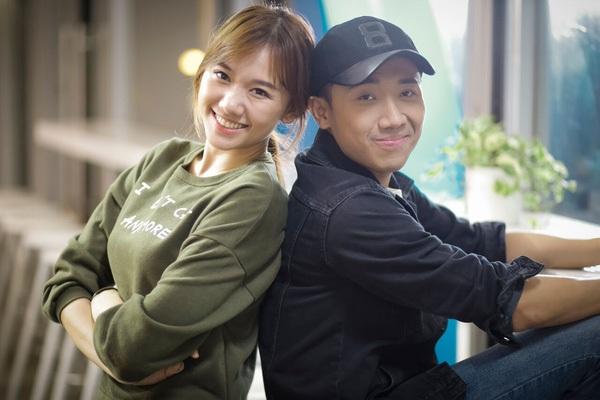 Trấn Thành chia sẻ rằng, Hari Won là cô em mà anh cực kỳ yêu thương trong nghề. Ảnh: TL.