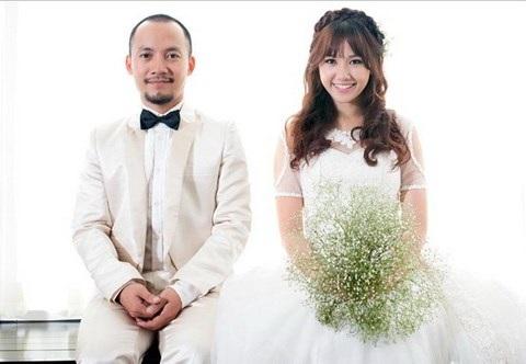 Hari Won và Tiến Đạt từng trải qua 9 năm yêu đương và từng chụp ảnh cưới. Ảnh: TL.
